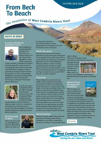 From Beck to Beach Winter Newsletter 2018/19